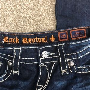 Rock Revival Jeans - Rock Revival Eva relaxed Boot Jean size 26
